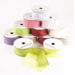 BURLAP RIBBON  click for avail colours